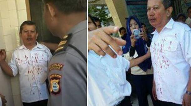 Inilah Kronologis Orang Tua & Murid Pukul Guru Di SMKN 2 Makassar