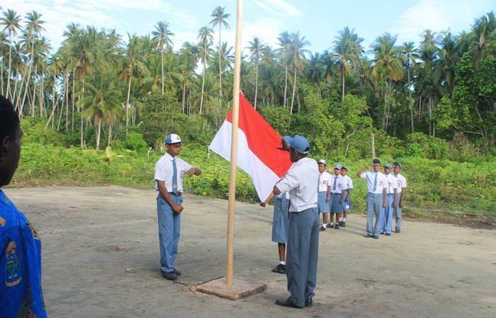 Upacara Bendera SMA Urbinasopen