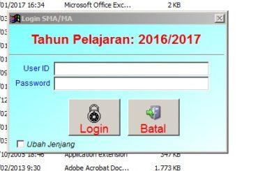 Download Aplikasi Bio UN SMA Raja Ampat 2017 Dan Import File DZ