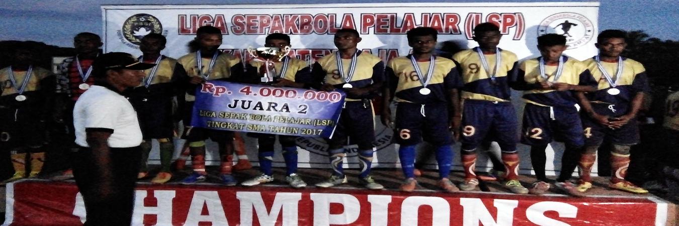 Juara 2 Liga Sepak bola Pelajar